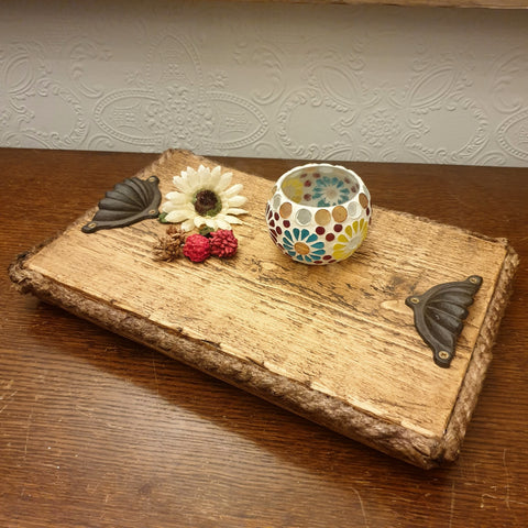 Rustic Decorative Tray - Totally Buddha