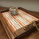 Decorative Wooden Tray - Totally Buddha