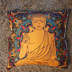Cushion Cover - Sitting Meditating Buddha - Totally Buddha