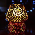 Glass Mosaic Table Lamp - ML288S - Totally Buddha
