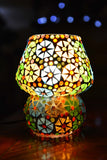 Glass Mosaic Table Lamp - ML289 - Totally Buddha