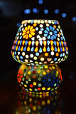 Glass Mosaic Table Lamp - ML294 - Totally Buddha