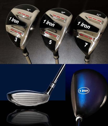 One Length Golf Clubs - Fairway Wood Hybrid