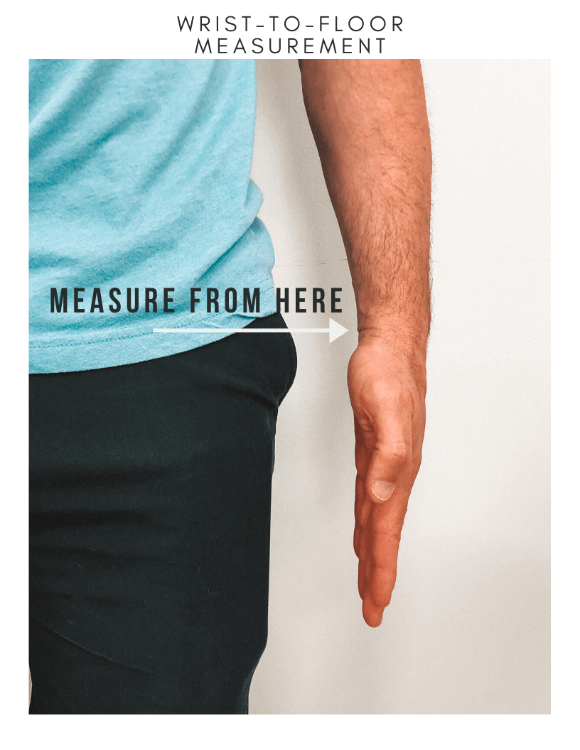 Wrist-to-Floor Measurement