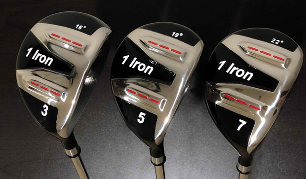 Used/Demo 1 Iron Low-Profile Fairway Woods