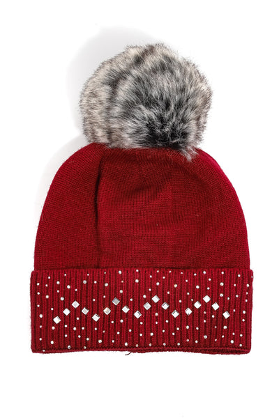 Winter Bling beanie
