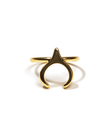 Queen of the Night Gold Ring