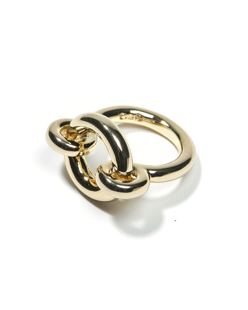 Gold Archer Ring