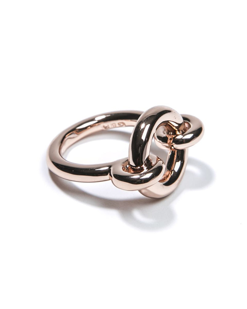 Rose Gold Archer Ring