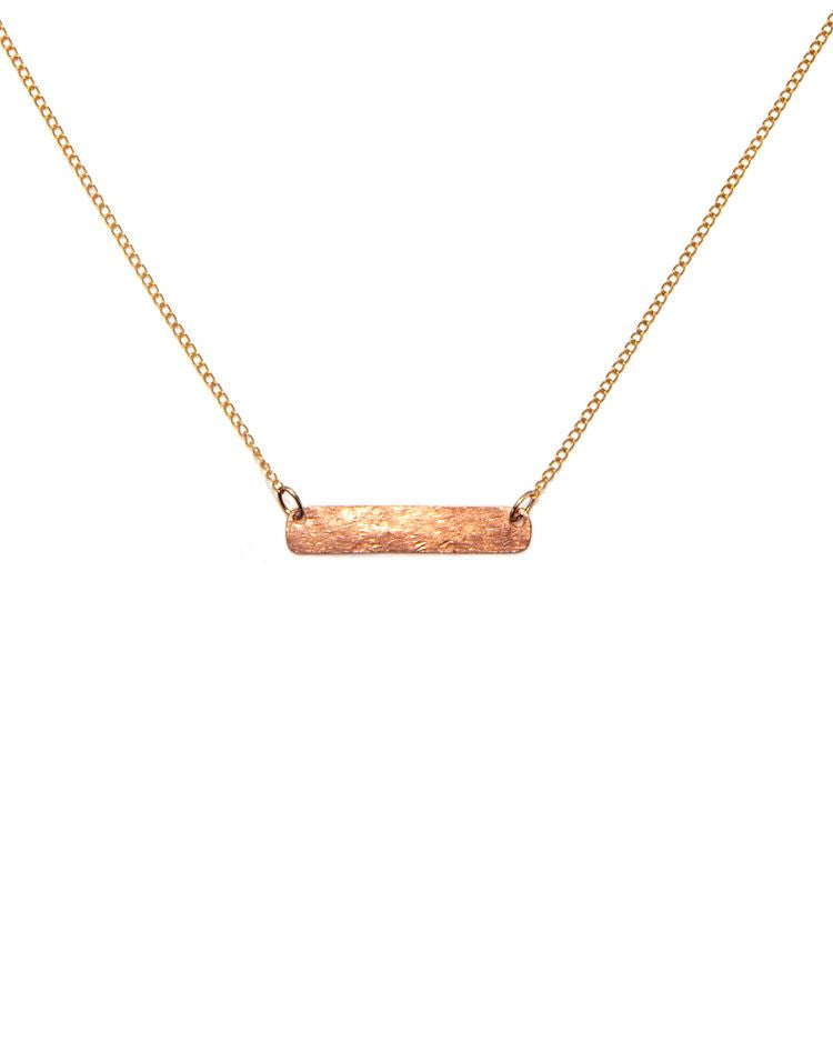Rose Gold Bar