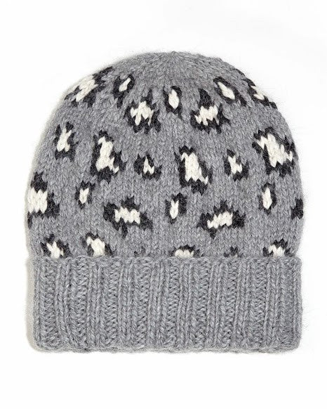 Andy Leopard Beanie