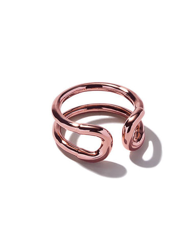 Mini Cortina Ring Rose Gold