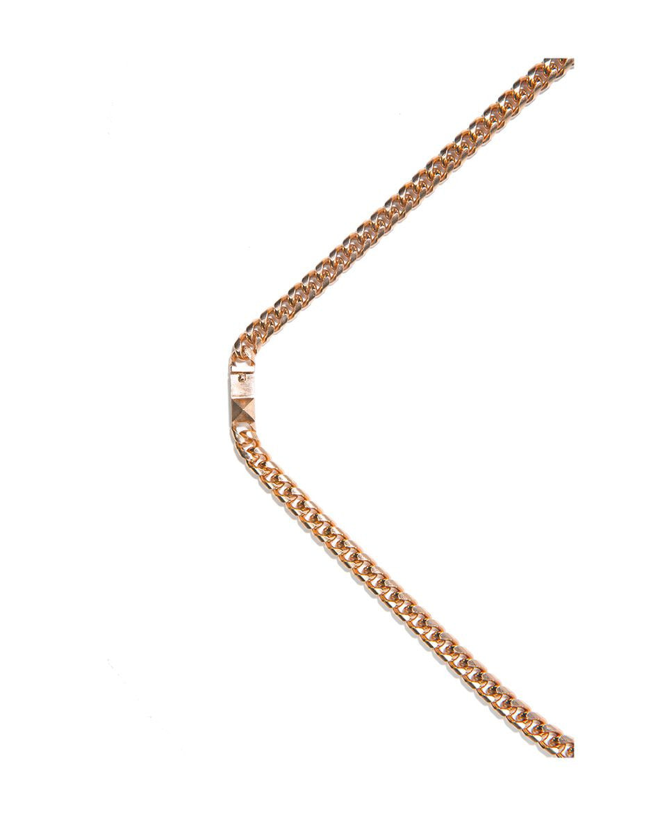 LUV AJ<br>The G Chain Necklace Rose Gold