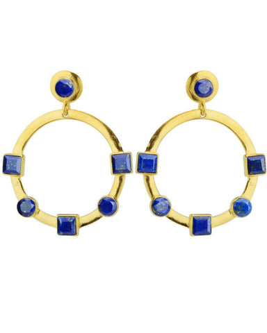 Reformation Earrings Lapis
