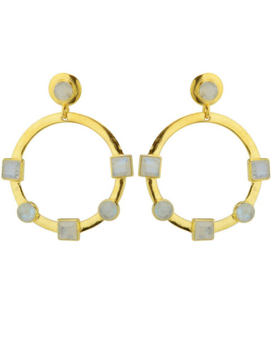 Reformation Earrings Moonstone