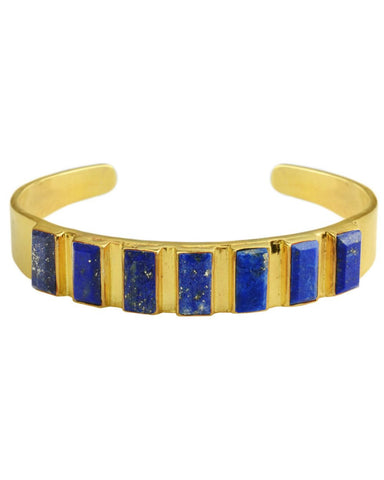 Renaissance Rectangle Cuff Lapis