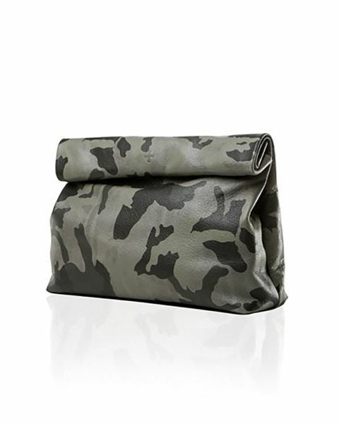 Marie Turnor<br>The Pebbled Lunch Clutch Camo