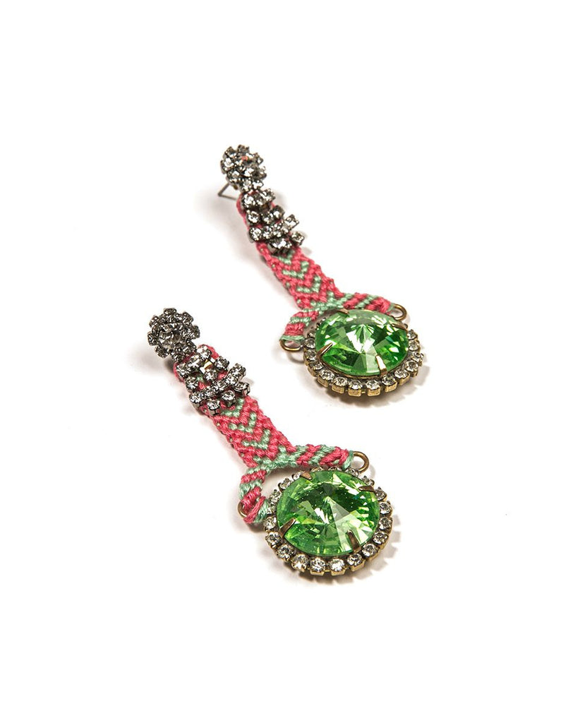 Earring 2 Green