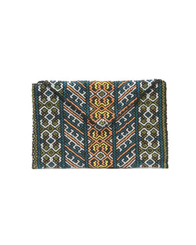 Felicia Beaded Envelope Bag Jungle