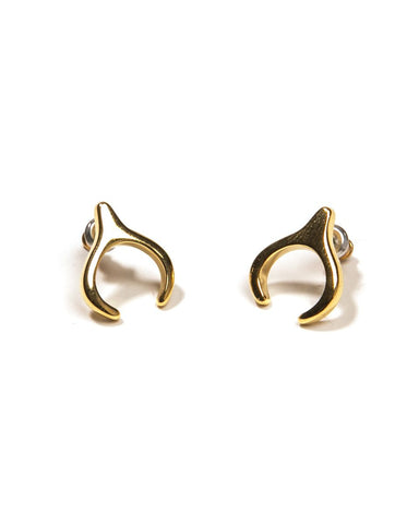 Queen of the Night Gold Earrings