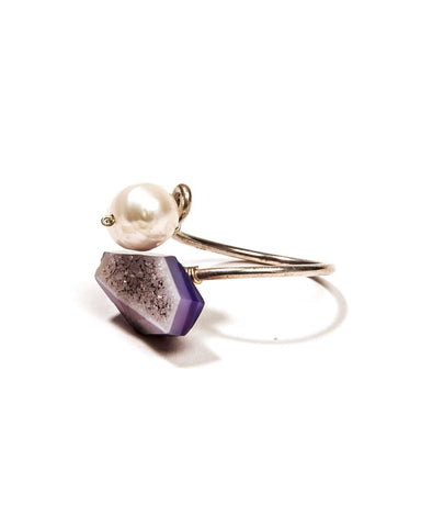 Mykonos Ring Purple