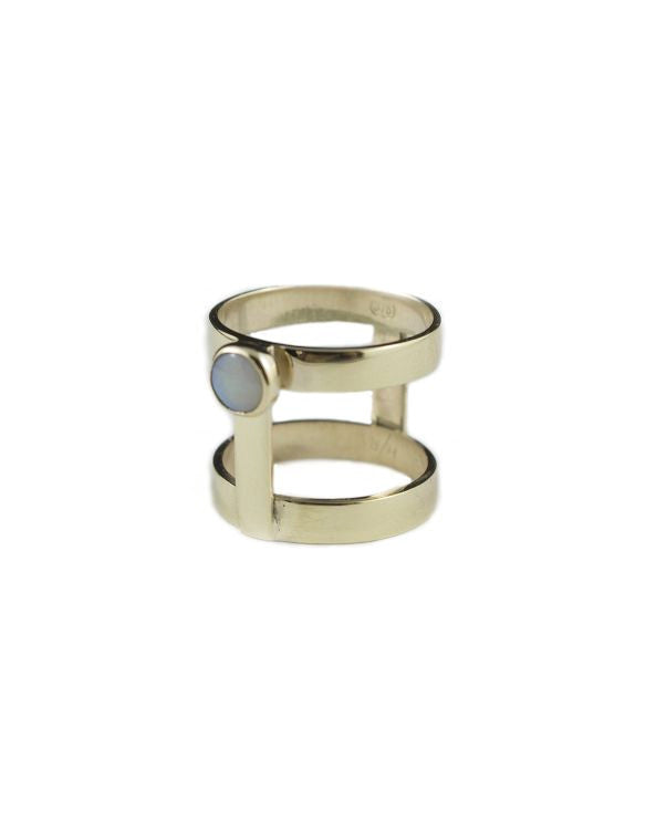 Holly Ring Yellow Gold