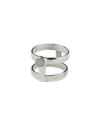Holly Ring Sterling Silver