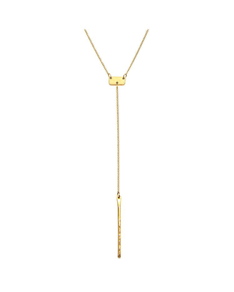 Lariat Bar Necklace