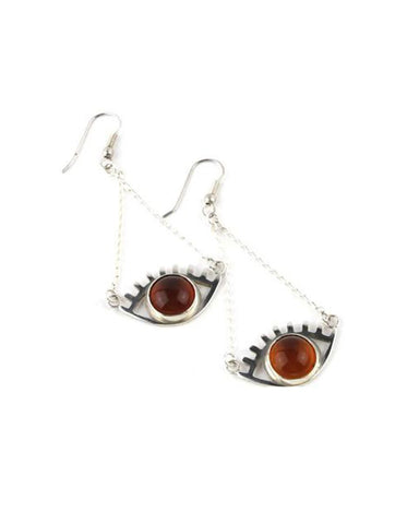 'No Evil' Eye Earrings