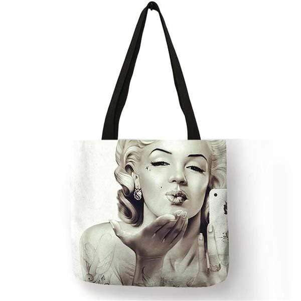 Bolsa Marilyn Monroe                                   Kisses from Marilyn