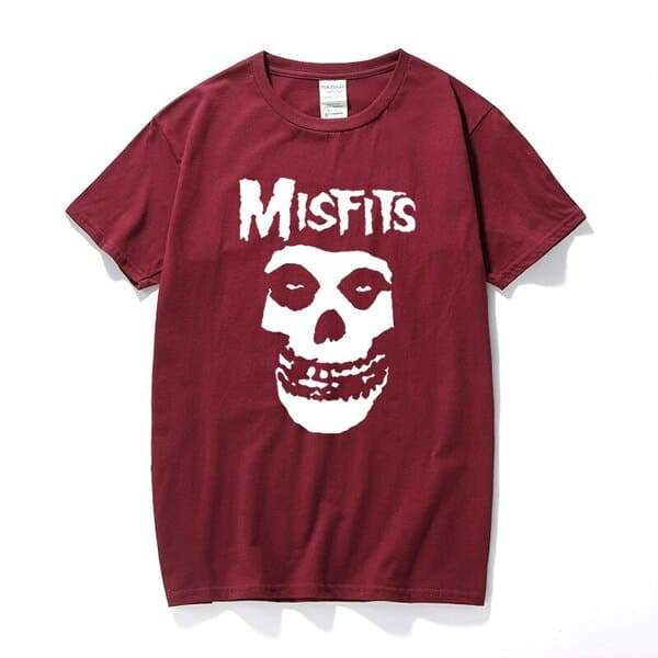 Camiseta Misfits  Bordô / M