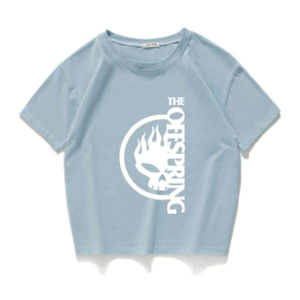 Camiseta The Offspring Azul / Vertical