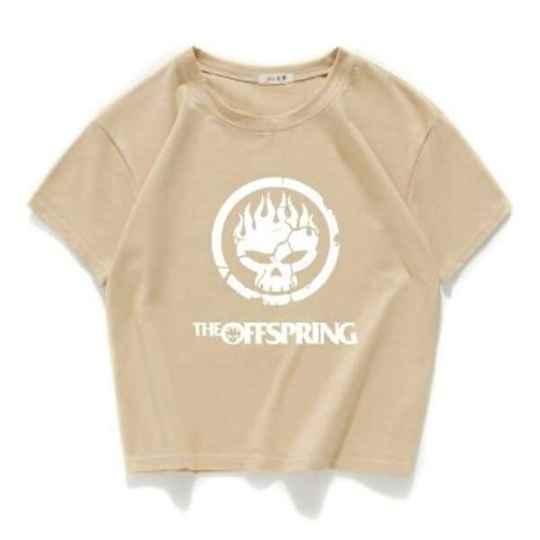 Camiseta The Offspring Bege / Horizontal