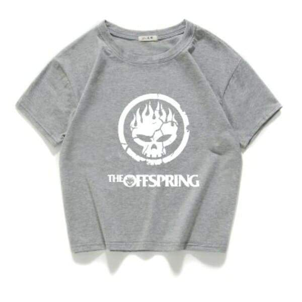 Camiseta The Offspring Cinza / Horizontal