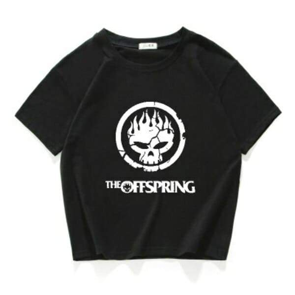 Camiseta The Offspring Preto / Horizontal