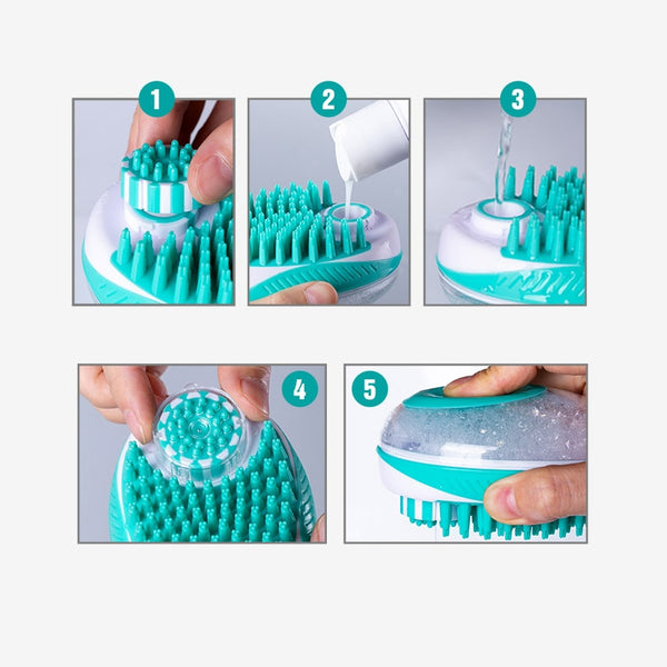 Pet Dog Bath Brush
