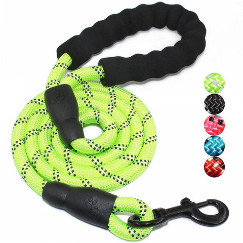 Reflective Dog Leash Nylon Rope, Perfect for adventure dogs!