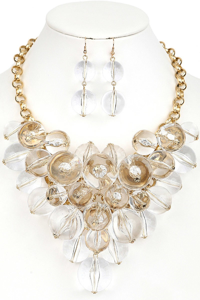 Pearlie Necklace Set