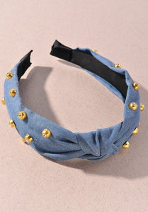 Denim Headband