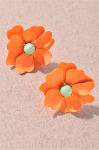 Colorful Daisy Earrings