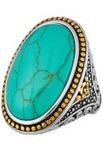 Load image into Gallery viewer, Turquoise Beauty -Oval