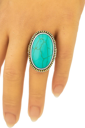 Turquoise Beauty -Oval