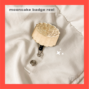 MOONCAKE badge reel