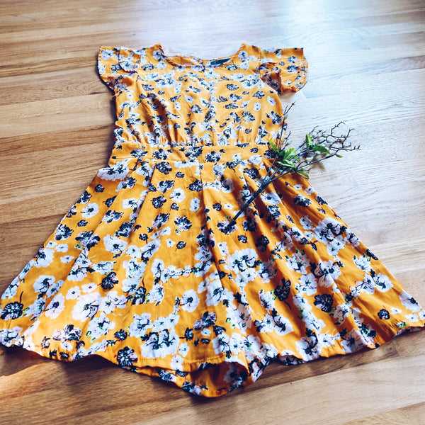 Yellow Floral Romper (6)