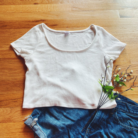 Soft White Top (XL)