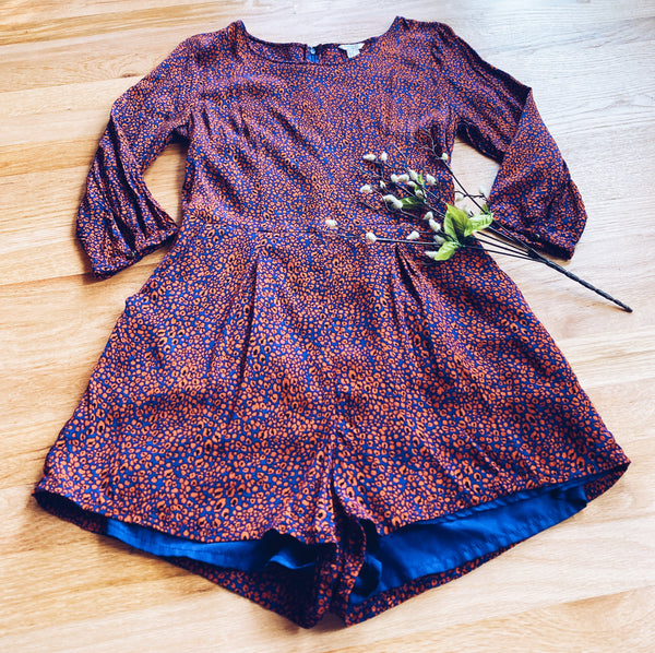 Long Sleeve Romper (M)