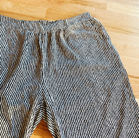 Striped Flowy Pants (XXL)