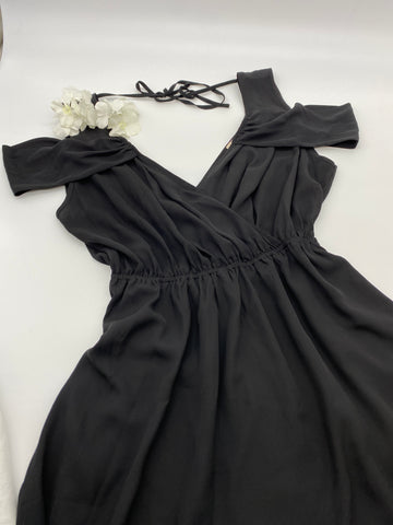 Black Strappy Dress (Size L)
