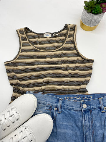 Striped Tank Top (Size M)