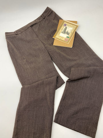 Brown Slacks Pants (Size 8P)